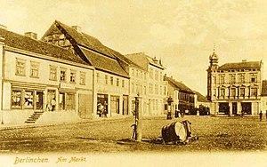Barlinek - Market place, about 1900