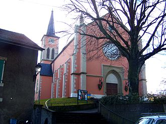 Bernex, Switzerland - Catholic Church of Bernex