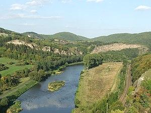 Berounka - The Berounka under Tetín