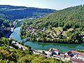 Besancon Blick von der Zitadelle auf den Doubs 07.jpg