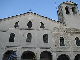 Goumenissa - Church in Goumenissa.