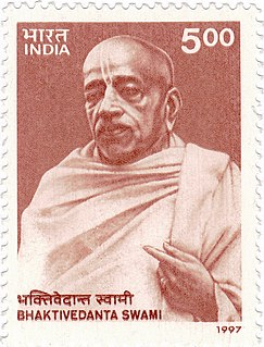 A. C. Bhaktivedanta Swami Prabhupada Indian guru