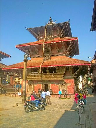 Patan Durbar Square - Bhimsen Mandir 03