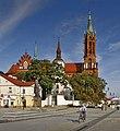 Bialystok Rynek Piłsudskiego z widokiem na Kościół Farny.jpg