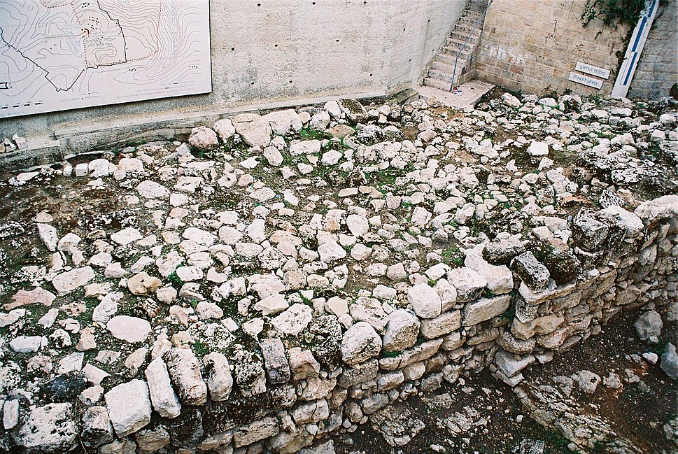 Biblical Jerusalem Wall Remnants