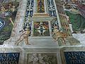 Biblioteca Piccolomini, detall dels frescos.JPG