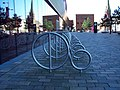 Bicycle Rack, West Bromwich - geograph.org.uk - 1537745.jpg