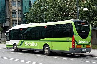 BizkaiBus - Bizkaibus unit in Bilbao