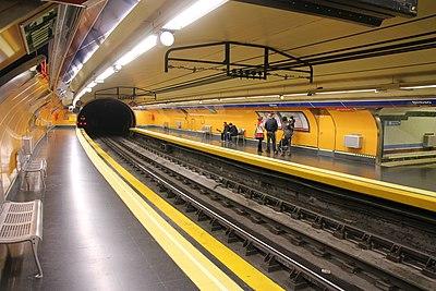 Estación de Bilbao (Metro de Madrid)