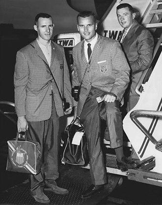 John B. Kelly Jr. - Kelly (center) in 1960