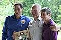 Bill Koch after receiving the inaugural Wilderness Stewardship Legacy Award (14963691679).jpg