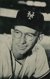 Bill Rigney American baseball player and manager