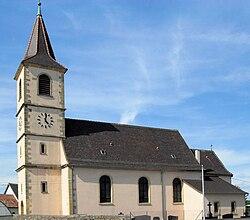 Biltzheim, Église Saint-Georges.jpg