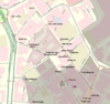 100px birmingham gay village map with labels