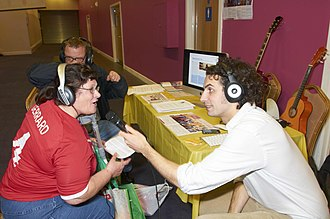 Accessibility - This Birmingham, West Midlands, Opportunities Fair was held to help persons with disabilities, and carers, to find out what services, support and opportunities are available to them.