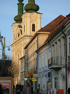 Saint John the Baptist Church, Târgu Mureș - Image: Biserica Iezuitilor din Tg. Mures