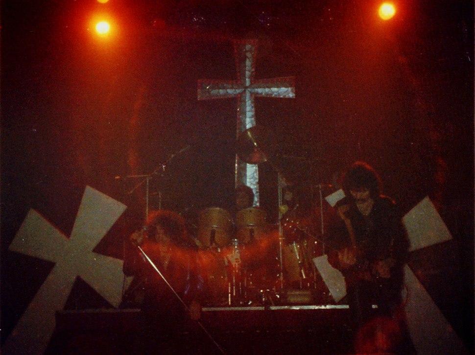 Black Sabbath Cardiff 1981