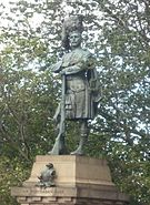 Black Watch Memorial on the Mound, Edinburgh