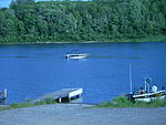 Boat in the St Marys River, North Channel.JPG