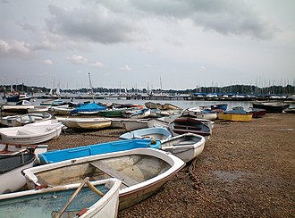 West Itchenor - Image: Boats at West Itchenor