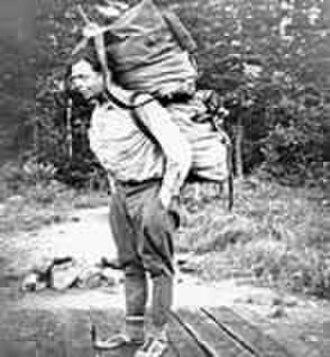 Bob Marshall (wilderness activist) - Marshall in the Quetico-Superior area, 1937