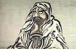 Bodhidharma, premier patriarche du T'chan en Chine