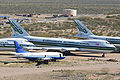 Boeing 747-273C 'N471EV' & 737-53A 'N487AE' at Pinal Air Park (13569292925).jpg