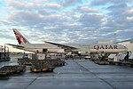 Boeing 777-300 (Qatar AW) A7-BAY LHR (15783946700).jpg