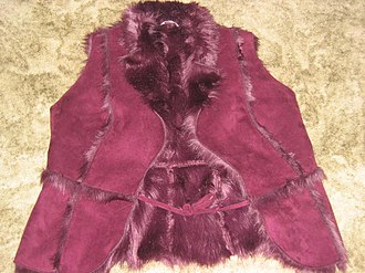Boho-chic - Furry gilet, Autumn 2005