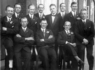 1926–27 FBUs Mesterskabsrække - Image: Boldklubben 1909 team photo Vinder af FB Us Mesterskabsrække 1926 27