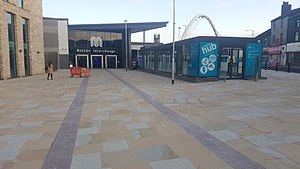 Bolton bus station - The entrance to the current station