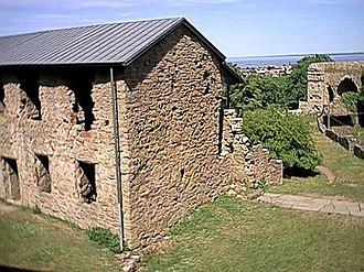 Borgholm - Image: Borgholms slott Öland Sweden 2001