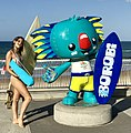 Borobi mascot of the 2018 Commonwealth Games at Surfers Paradise, Queensland 02.jpg