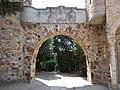 Bory Castle. Gate. - 54, Máriavölgy Rd., Öreghegy, Székesfehérvár, Fejér county, Hungary.JPG