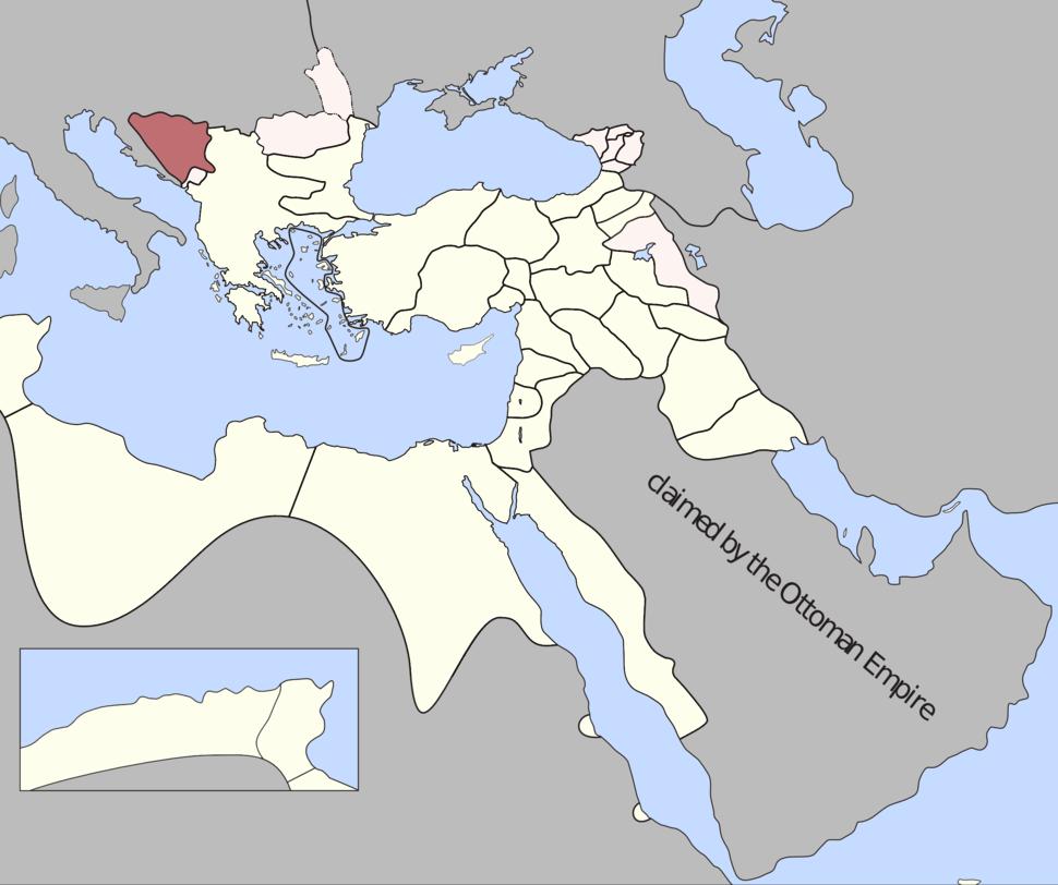Bosnia Eyalet, Ottoman Empire (1795)