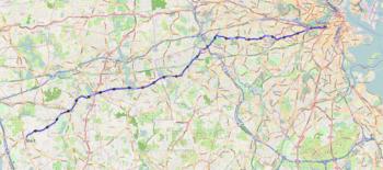 Boston Marathon Course Elevation Map.2018 Boston Marathon Wikipedia