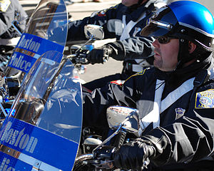 Boston Police Special Operations Unit - A member of the Boston Police Special Operations Unit