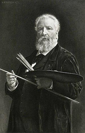 Maulstick - Image: Bouguereau Portrait du peintre 1895