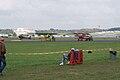 Bowers 1B Fokkers D.VIII Dr.I Dawn Patrol NMUSAF 26Sept09 (14599267662).jpg