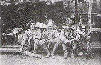American troops in China during the Boxer Rebellion.