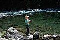 Boy fishing Clackamas River Mt Hood National Forest (35502783774).jpg