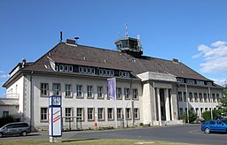 Braunschweig Brunswick Flughafen BS WOB Eingang (2006)