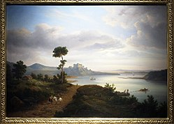 Chrystian Breslauer: Northern Landscape with a Lake and a Castle