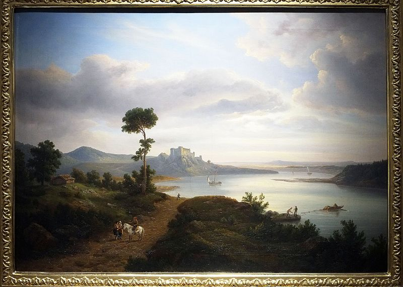 File:Breslauer Northern Landscape with a Lake and a Castle.jpg