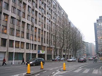 Brussels and the European Union - The Breydel building served as the Commission's headquarters while the Berlaymont was renovated