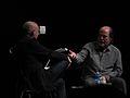 Brian Eno, Danny Hillis by Pete Forsyth 04.jpg