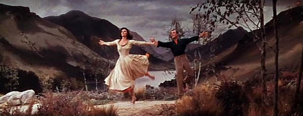 Cyd Charisse et Gene Kelly dans le numéro The Heather on the Hill