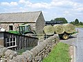 Bringing in the hay at Old Castleton - geograph.org.uk - 209923.jpg