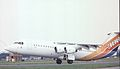 British Aerospace BAe-146-300 G-LUXE British Aerospace, Farnborough UK, September 1988. (5589887710).jpg