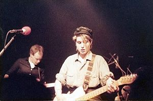 The Fall (band) - Steve Hanley and Brix Smith, Perverted By Language tour, Hamburg, 13 April 1984
